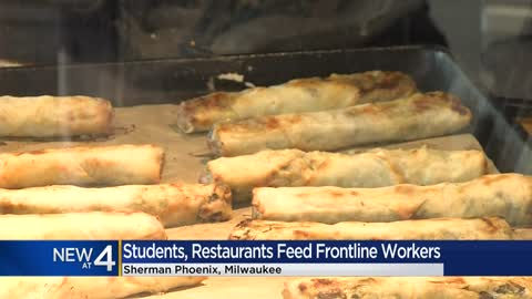 Area high school students provide free meals to Sherman Phoenix...